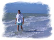 Ron at Indian Shores Beach, Florida  (2004)