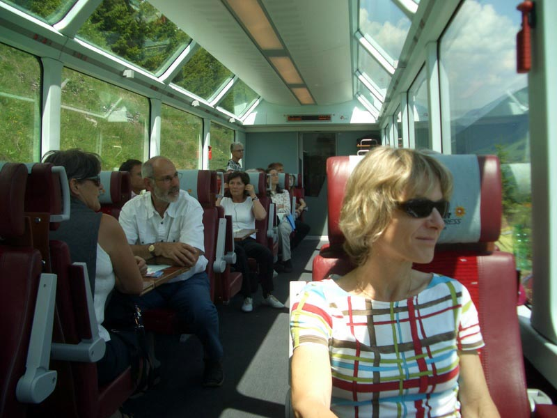 glacier express seat reservatuons